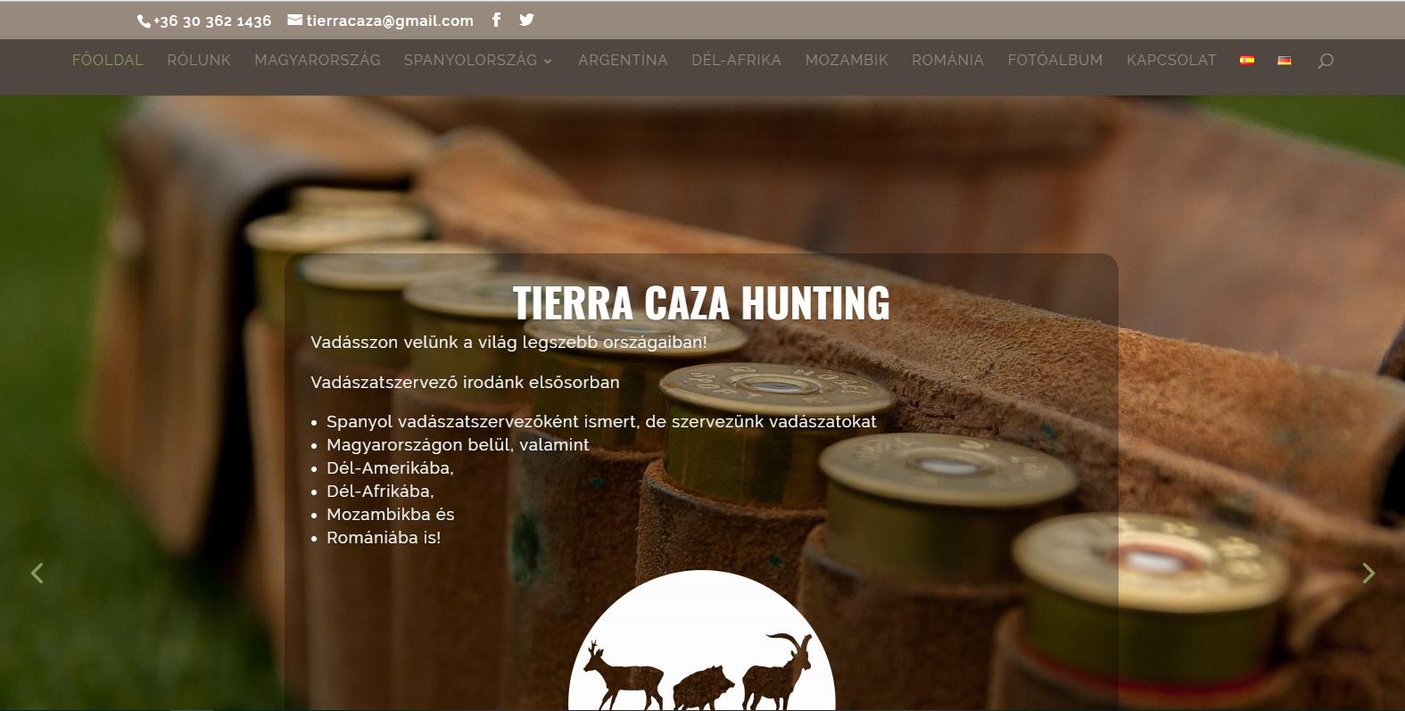 b33440d8b0e5 Tierra Caza Hunting - Vadásszon velünk a világ legszebb országaiban!